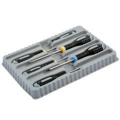 BAHCO Screwdriver Set w. Rubber Grip - 6 Piece BE-9882