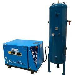ABAC 10HP 300L Low Noise Compressor Set LN1000SET300
