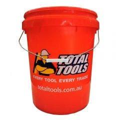 TOTAL TOOLS 20L Plastic Bucket W/ Handle TB20TTNL