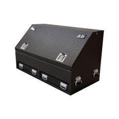 1-11 Steel Truck Box T-Lock Charcoal BK12CHBBS