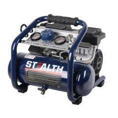 STEALTH AirRUNNER Quiet 1HP 8L Oil Free Air Compressor AIRRUNNER