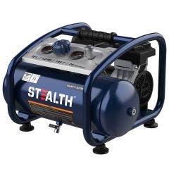 STEALTH Air TRIMMER Quiet 1HP 12L Oil Free Air Compressor AIRTRIMMER