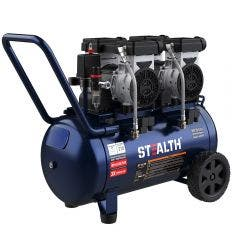 STEALTH AirBOSS Quiet 3HP 50L Oil Free Air Compressor AIRBOSS