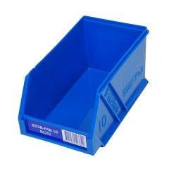 FISCHER 100 x 170 x 85mm STOR-PAK 10 Blue Storage Bin 1H061B