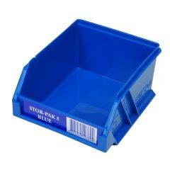 FISCHER 110 x 115 x 60mm STOR-PAK 5 Blue Storage Bin 1H060B