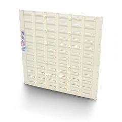 FISCHER 460 x 460mm STOR-PAK Louvre Panel Storage  1H083