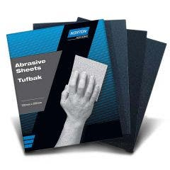 NORTON 230 x 280mm 320-Grit Silicone Carbide Wet & Dry Sandpaper Sheet