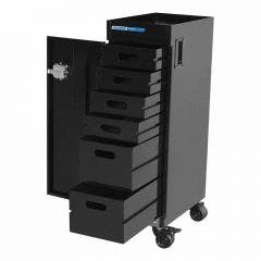 KINCROME 6 Tray Trade Centre Mobile Parts Trolley K7368