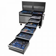 KINCROME 524 Piece 13 Drawer Trade Centre Trolley Tool Kit K1771