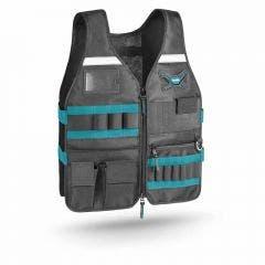 MAKITA Work Vest With Adjustable Pockets E05636