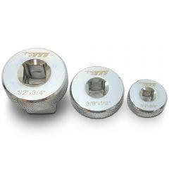 TTI 3 Piece Low Profile Socket Adaptor Set TMXVS31