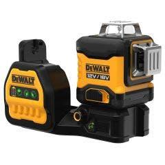 DEWALT 18V 3x360 Degree Green Beam Multi-Line Laser Level Skin DCE089NG18-XJ