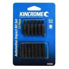 KINCROME 5/16inch Drive Automotive Impact Bit Set - 13 Piece ID3556