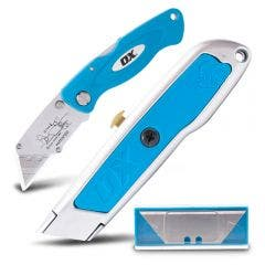 OX Twin Pack Utility Knives OX-T432602