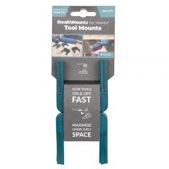 STEALTHMOUNTS 4 Pack Makita LXT Tool Mount - Teal TMMK18BLU4