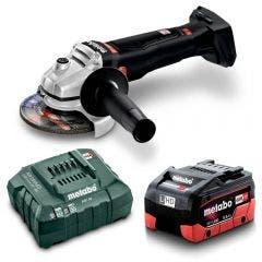 METABO 18V Brushless 1 x 5.5Ah 125mm Angle Grinder Kit AU61309000