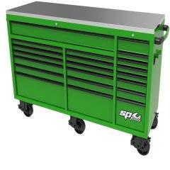 158385-SP-73-USA-Sumo-Series-Wide-Roller-Cabinet-21-Drawer-GreenBlack-SP44825G-HERO_main