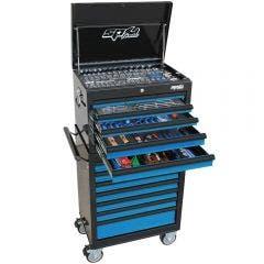 SP TOOLS 244 pcs Custom Series Tool Kit - Blue/Black SP50104BL