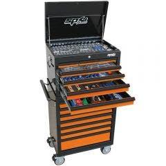 SP TOOLS 244 pcs Custom Series Tool Kit - Orange/Black SP50104OR