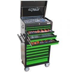 SP TOOLS 307 pcs Custom Series Tool Kit - Green/Black SP50105G