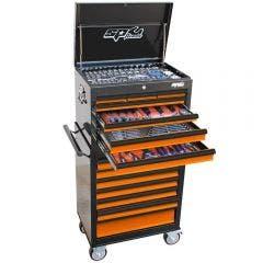 SP TOOLS 307 pcs Custom Series Tool Kit - Orange/Black SP50105OR