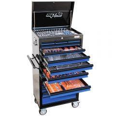 SP TOOLS 377 pcs Custom Series Tool Kit - Blue/Black SP50110BL