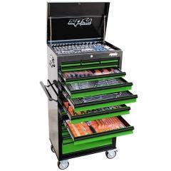 SP TOOLS 377 pcs Custom Series Tool Kit - Green/Black SP50110G
