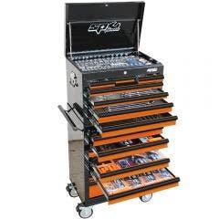 SP TOOLS 506 pcs Custom Series Tool Kit - Orange/Black SP50164OR