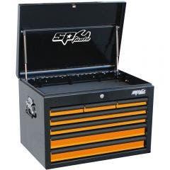SP TOOLS 7 Drawer Deep Custom Series Tool Box - Orange/Black SP40102OR