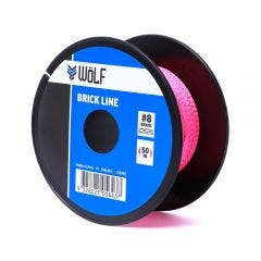 WoLF 50m Fluro Pink Brick Line WBL003