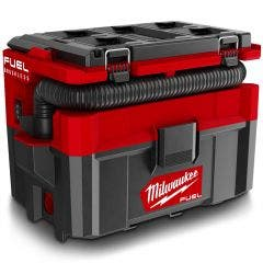 MILWAUKEE 18V FUEL™ PACKOUT™ Brushless 9.4L Wet/Dry Vacuum Skin M18FPOVCL-0