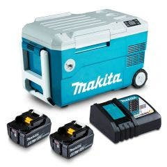 MAKITA 18V Cooler/Warmer 20L 2 x 5.0Ah with Car & AC Charger DCW180RTE