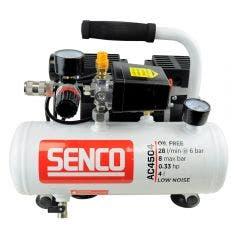 SENCO 0.33HP 4L Oil Free Direct Drive Air Compressor AC4504