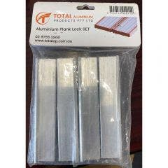 TOTAL ALUMINIUM PRODUCTS Planks Lock Kit ALPLSET