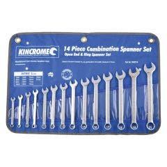 KINCROME 14 Piece Combination Spanner Set - Metric 1352214