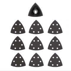 MILWAUKEE 10 piece OPEN-LOK 89mm Sanding Pad & Paper Variety 49252009