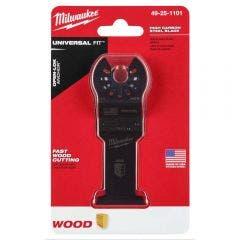 MILWAUKEE 35mm OPEN-LOK High Carbon Steel Wood Blade 49251101