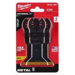 MILWAUKEE 3 piece 45mm OPEN-LOK Titanium Enhanced Bi-Metal Metal Blade 49251263