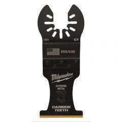 MILWAUKEE 35mm OPEN-LOK Extreme Metal Titanium Enhanced Carbide Teeth Blade 49251501