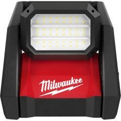 MILWAUKEE 18V 4000 Lumens LED High Performance Area Light Skin M18HOAL-0