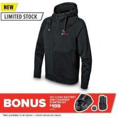 BOSCH 12V Hoodie Jumper Skin - Black 06188000EP