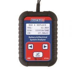 MATSON Digital Battery And System Tester BT400