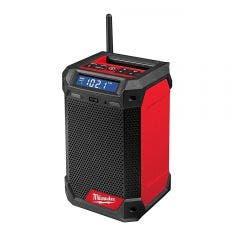 MILWAUKEE 12V Jobsite Radio and Charger w. DAB+ Skin M12RCDAB+-0