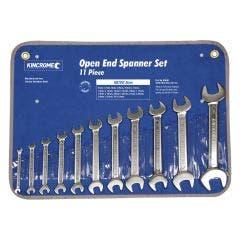 KINCROME 11 Piece Open End Spanner Set - Metric K3040