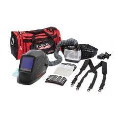 LINCOLN VIKING 3350 XG 4C PAPR Welding Helmet c/w External Grind Button K3930-5
