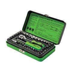 SUPATOOL 40 Pcs 1/4in Drive - Metric & Imperial Socket Set STP2040