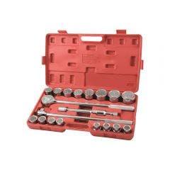 SUPATOOL 20 Pcs 3/4in Drive - Metric Socket Set S2001