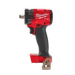 MILWAUKEE 18V FUEL™ 1/2inch Compact Impact Wrench w. Friction Ring Skin M18FIW2F12-0