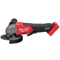 MILWAUKEE 18V FUEL™ Brushless 125mm Angle Grinder w. Deadman Paddle Switch Skin M18FAG125XPD-0