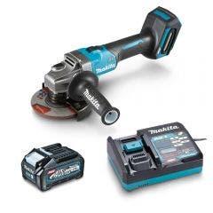 MAKITA 40V Brushless XGT MAX 125mm 1 x 4.0Ah Grinder Kit GA005GM103